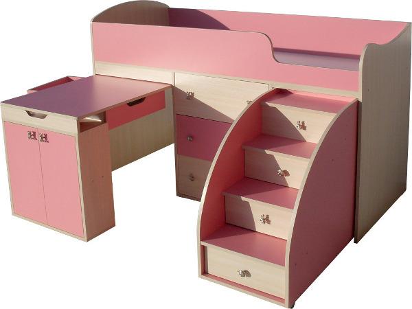 Особенности покупки детской мебели трансформер