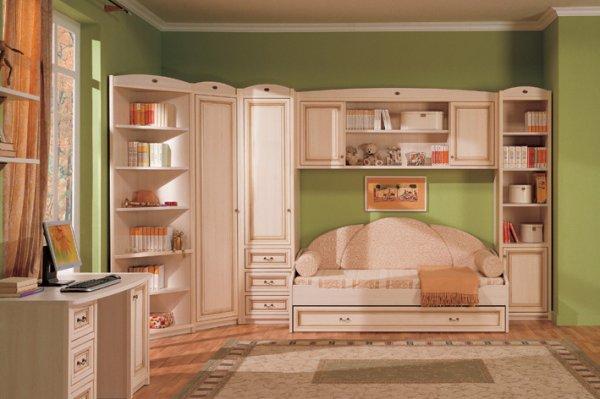Особенности создания красивого дизайна в интерьере детской спальни