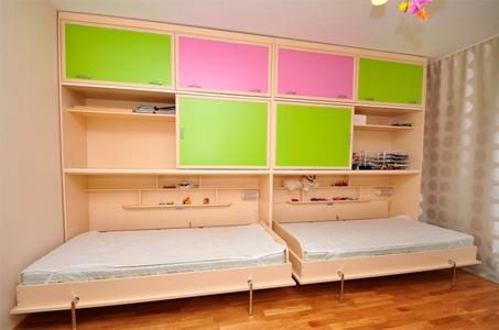 Откидная мебель для двух детей