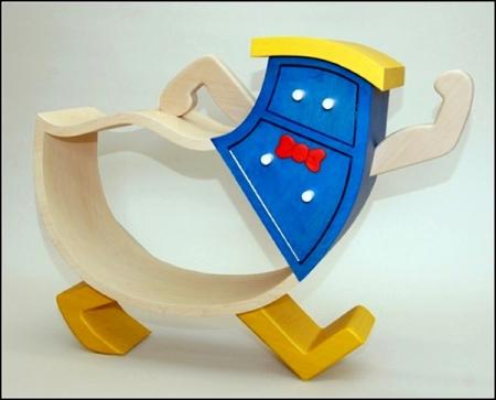 Практичная детская игровая мебель