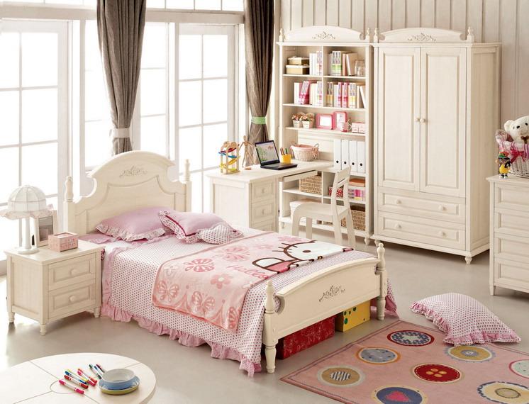 Практичная детская мягкая мебель в стиле прованс для дома
