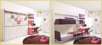 Практичная двухэтажная мебель для двух детей