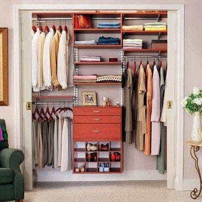 Практичная гардеробная