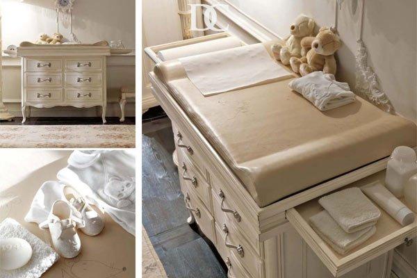 Практичная итальянская мебель для новорожденного