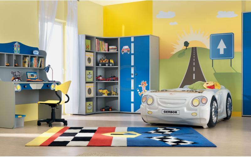 Практичная мебель для детской спальни 1-3 года