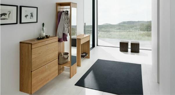 Практичная мебель для маленькой прихожей
