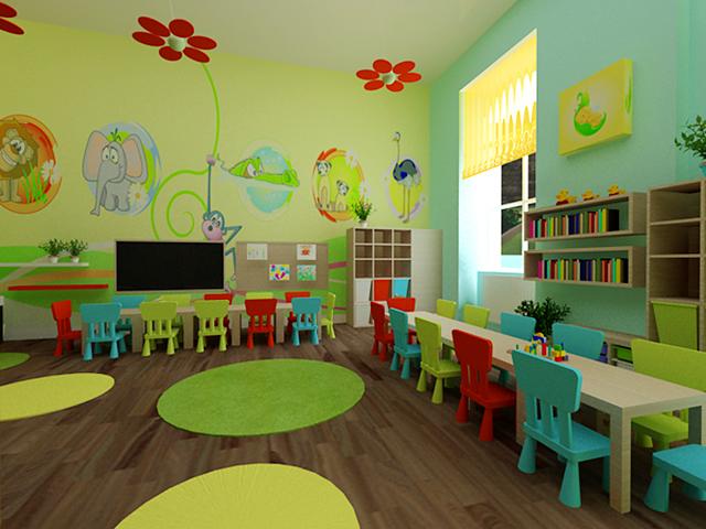Практичная мебель для обустройтсва детского сада