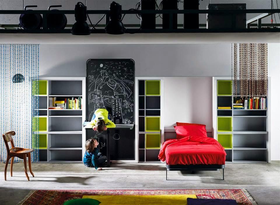 Практичная мебель из Италии для ребенка от 3 лет до 6 лет