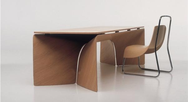 Практичная мебель из гнутой фанеры
