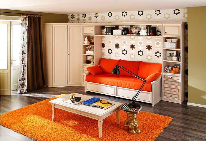 Практичная современная итальянская мебель для школьника