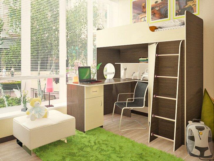 Практичное обустройство комнаты