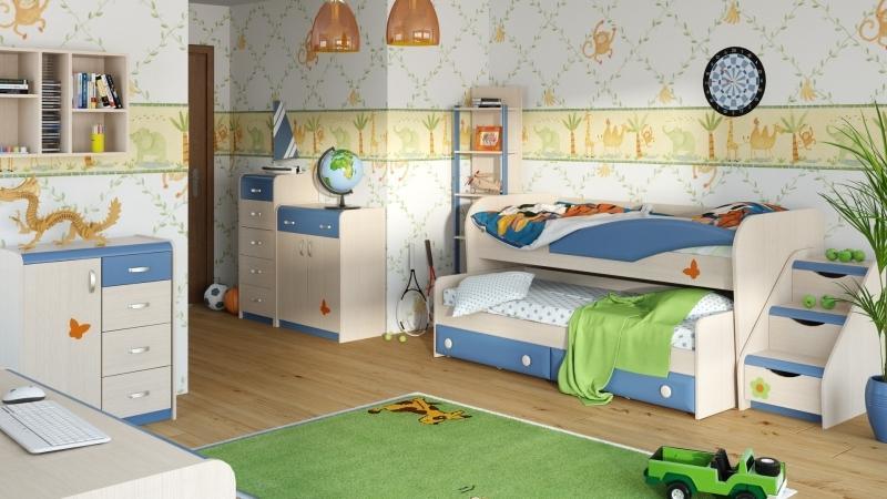 Практичный детский набор мебели