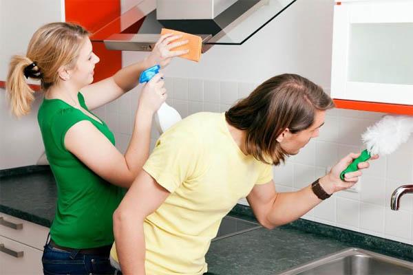 Правила удаления жира на кухне