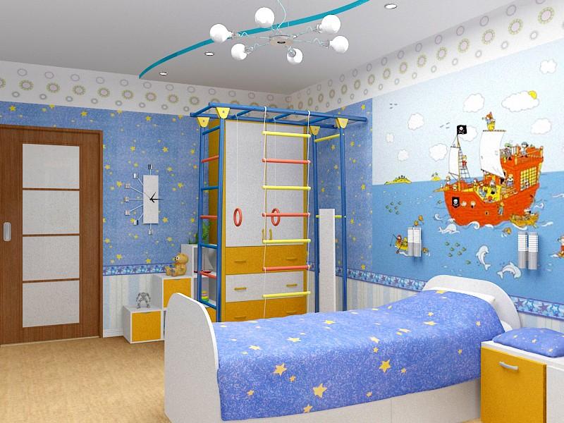 Правила выбора мебели в детскую комнату мальчика