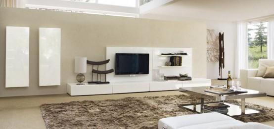 Правила выбора модульной мебели для оформления интерьера гостиной