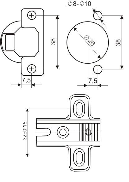 Как сделать навесную петлю