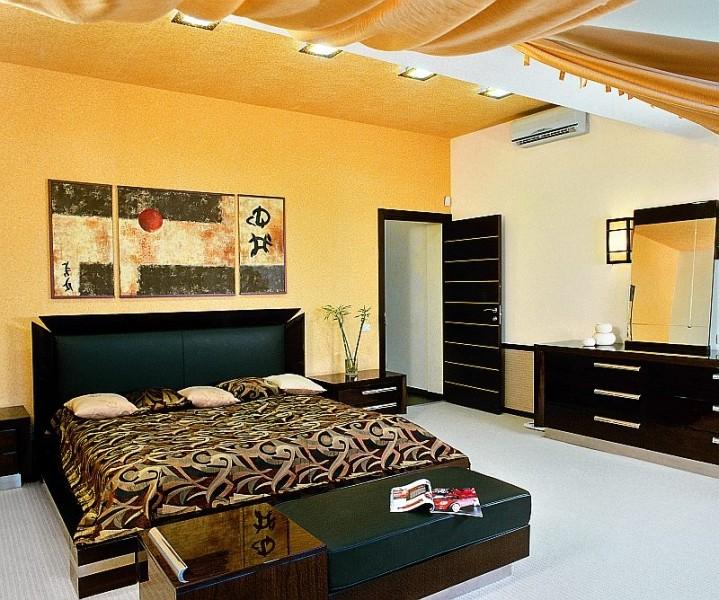 Правильное расположение мебели в спальной комнате