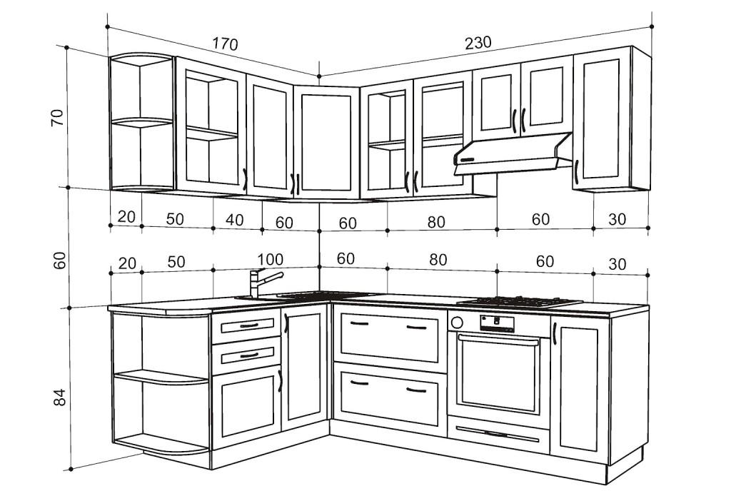 Правильный проект кухонного гарнитура