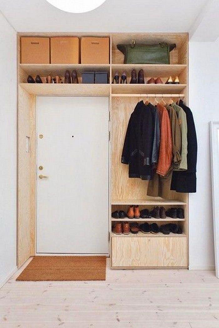 Пример гардероба размером 4 кв.м