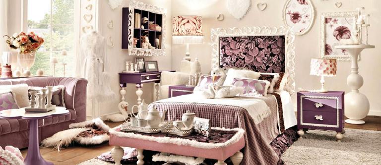 Пример итальянской детской мебели