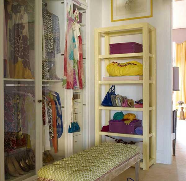 Пример красивого гардероба 4 кв.м