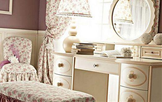 Пример красивой итальянской детской мебели