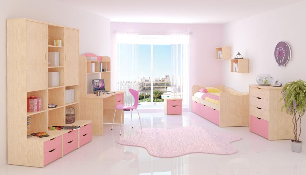 Пример набора детской мебели