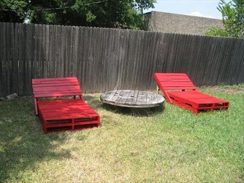 Примеры уличной мебели