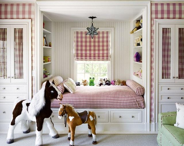 Привлекательная детская мебель в стиле прованс