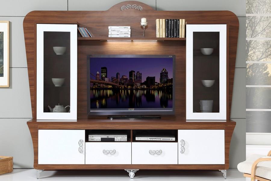 Привлекательная мебель под телевизор