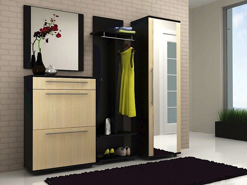 Модульная мебель для прихожей, как выбрать и расположить.