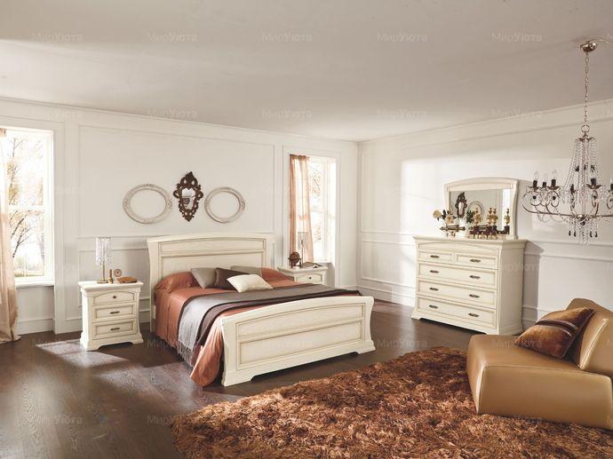Распологаем комод в спальне