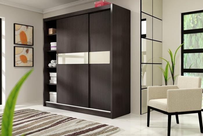 Распологаем шкаф в спальне