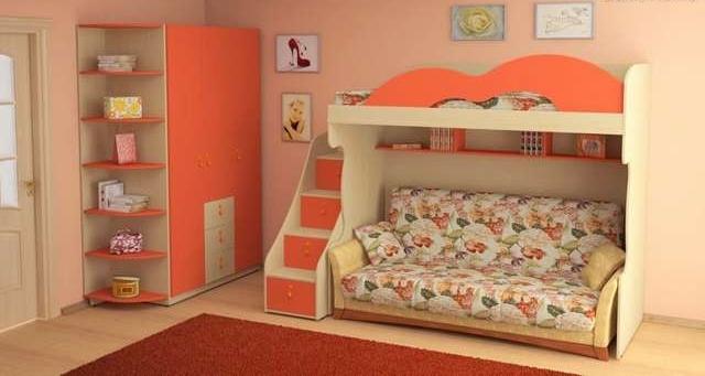 Расположение мебели создает приятные условия для проживания