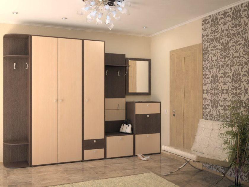 Различная мебель для обустройства коридора