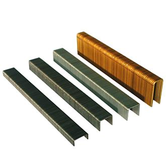 Различные скобы для мебельного степлера