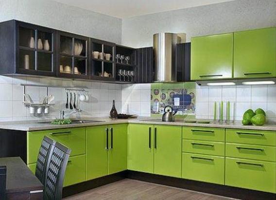 Различные цвета в оформлении дома