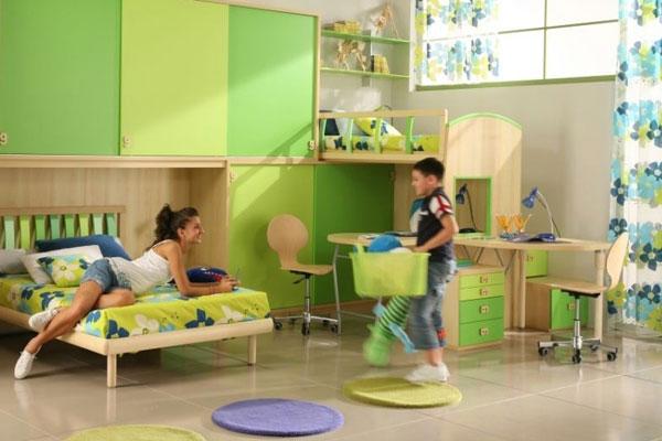 Размещаем двух детей в одной комнате