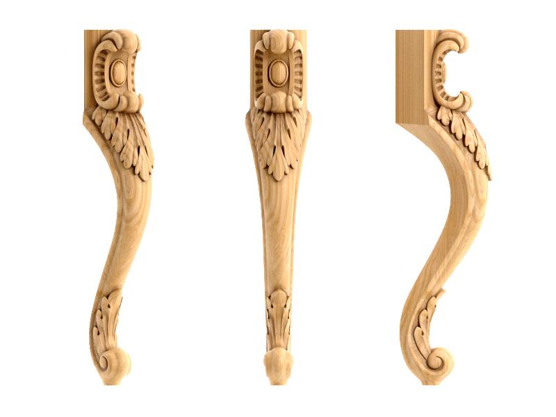Резные мебельные ножки