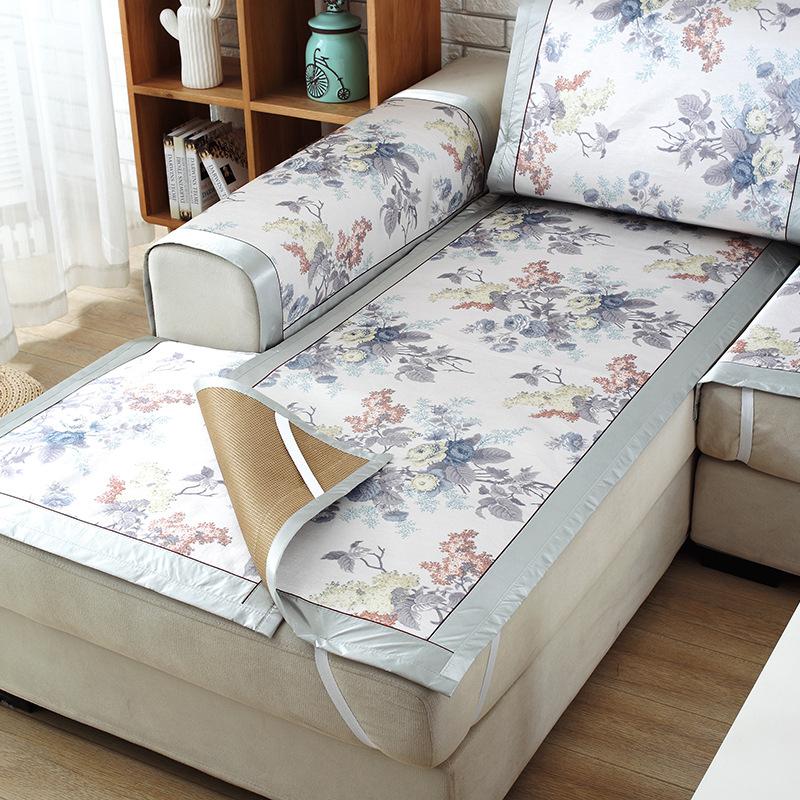Шелковая накидка на диван