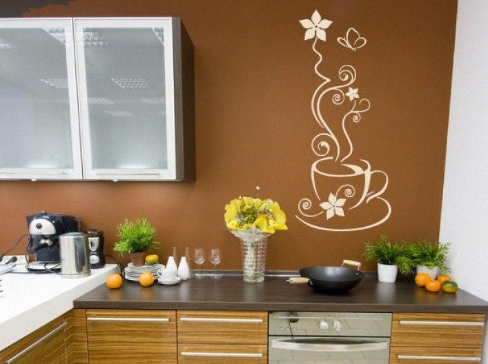 Шикарные наклейки для кухонного гарнитура