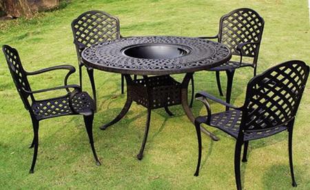 Садовая мебель на основе пластика
