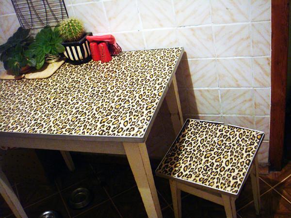Декор стола и стульев