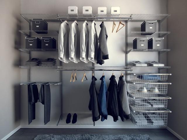 Сетчатые гардеробные системы хранения