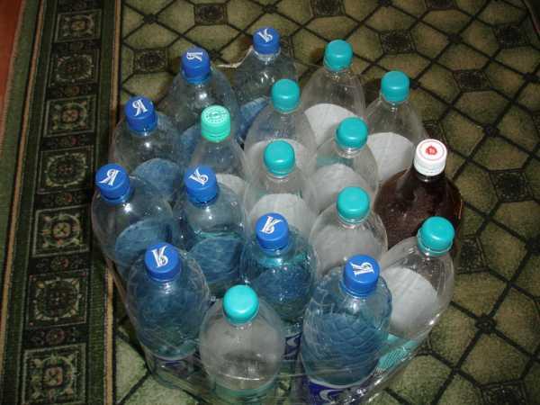 Сматываем скочтем бутылки