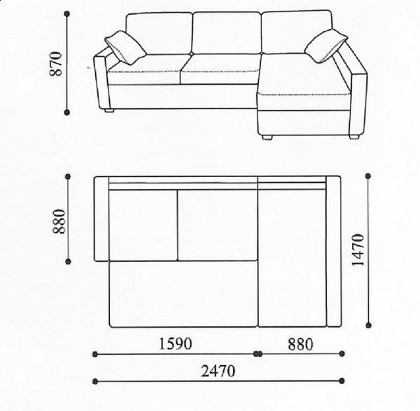 Снятие замеров мебели