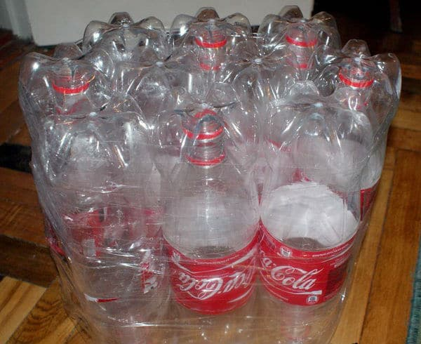 Соединяем бутылки между собой