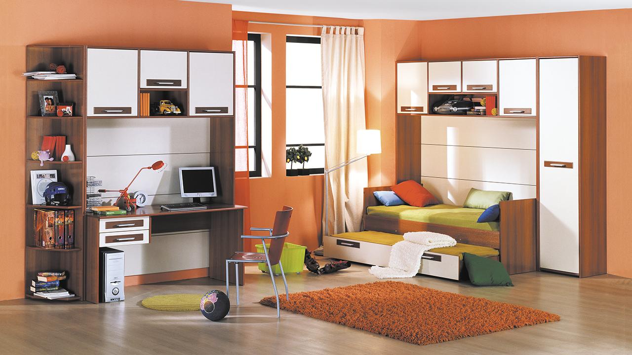Современная детская модульная мебель