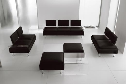 Современная и стильная мягкая мебель в офис