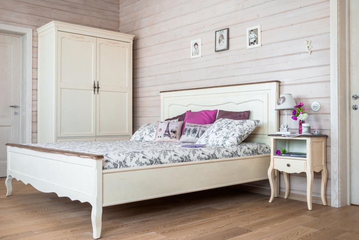 Современная мебель для спальни в стиле прованс